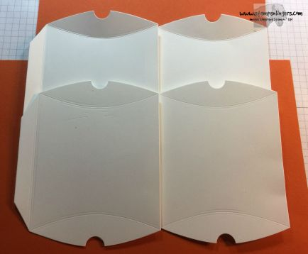 Pillow Box Tutorial 2