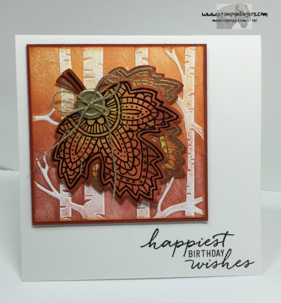 Lighthearted Leaves Birthday 1 - Stamps-N-Lingers