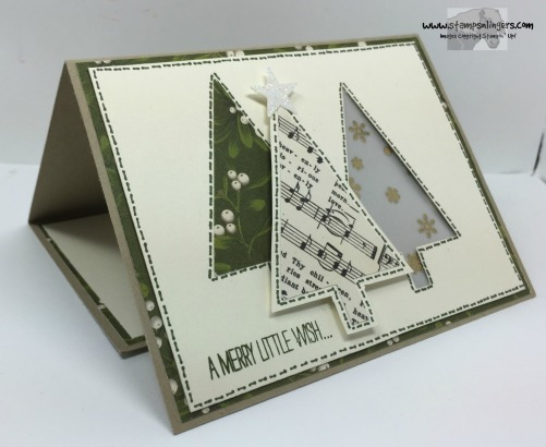 Festival of Trees Fun Fold 3 - Stamps-N-Lingers