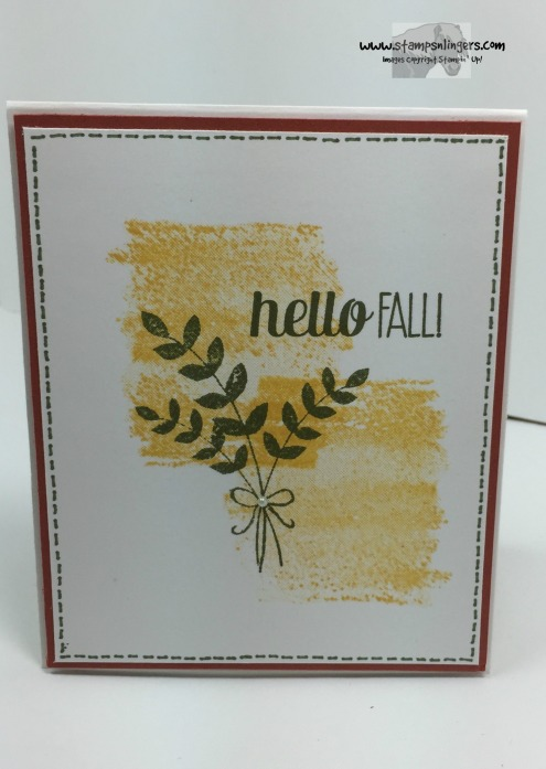For All Things Super Simple Card 1 - Stamps-N-Lingers
