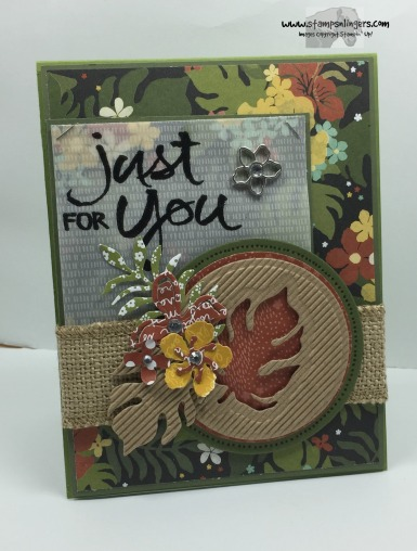 Botanicals Just For You 1 - Stamps-N-Lingers