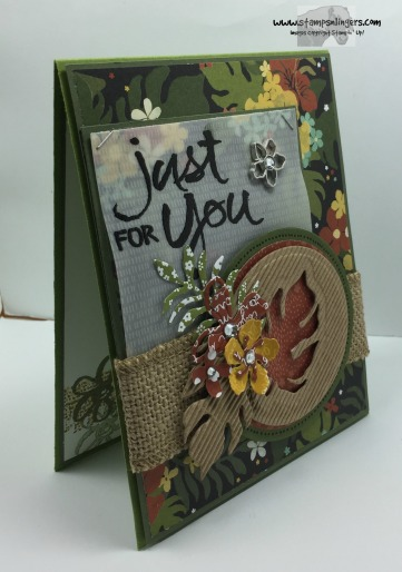 Botanicals Just For You 2 - Stamps-N-Lingers