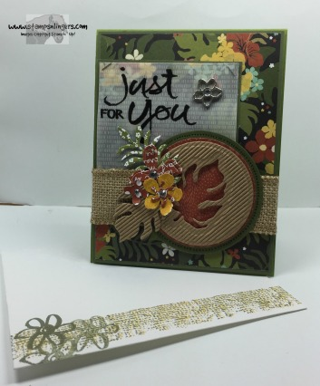 Botanicals Just For You 6 - Stamps-N-Lingers