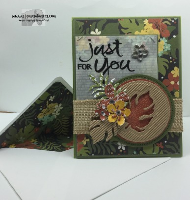 Botanicals Just For You 7 - Stamps-N-Lingers