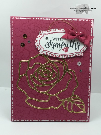 Rose Wonder Sympathy 1 - Stamps-N-Lingers