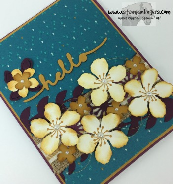 Botanical Builder Hello 2 - Stamps-N-Lingers
