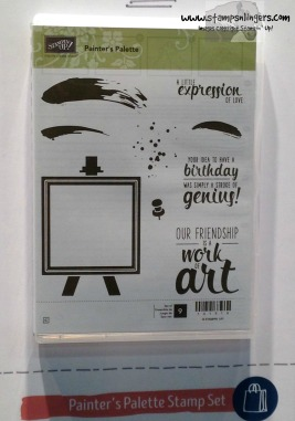 Painter's Palette Stamp Set - Stamps-N-Lingers