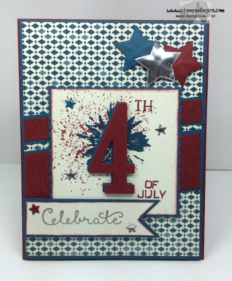 Touches of Texture 4th of July 1 - Stamps-N-Lingers