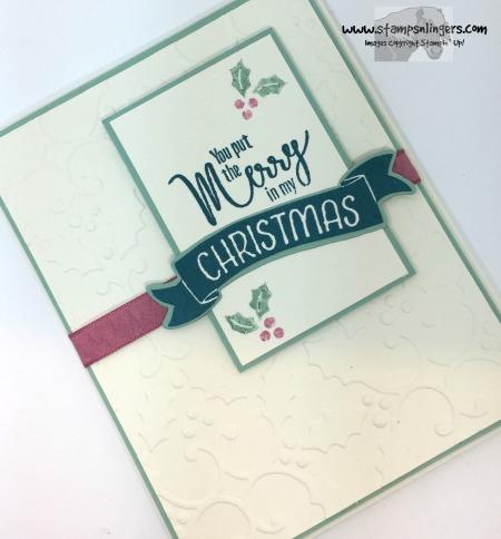 My Hero Christmas in July 4 - Stamps-N-Lingers
