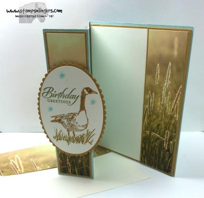 Wetlands Z-Fold 7 - Stamps-N-Lingers
