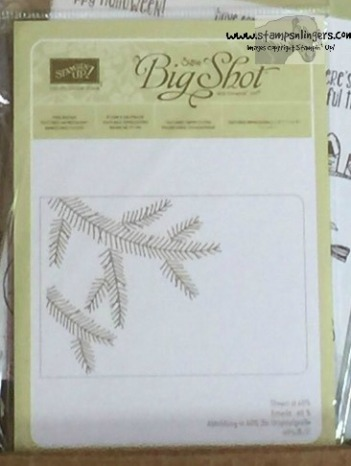 Pine Bough TIEF - Stamps-N-Lingers