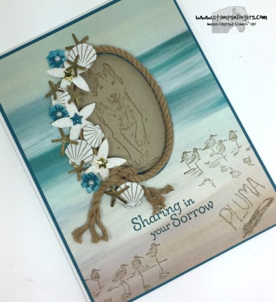 Wetlands Seaside Shore 4 - Stamps-N-Lingers