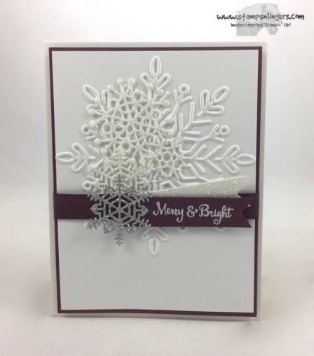 Seasonal, Swirly Sparkly Snowflakes - Stamps-N-Lingers 1