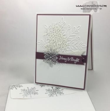 Seasonal, Swirly Sparkly Snowflakes - Stamps-N-Lingers 7