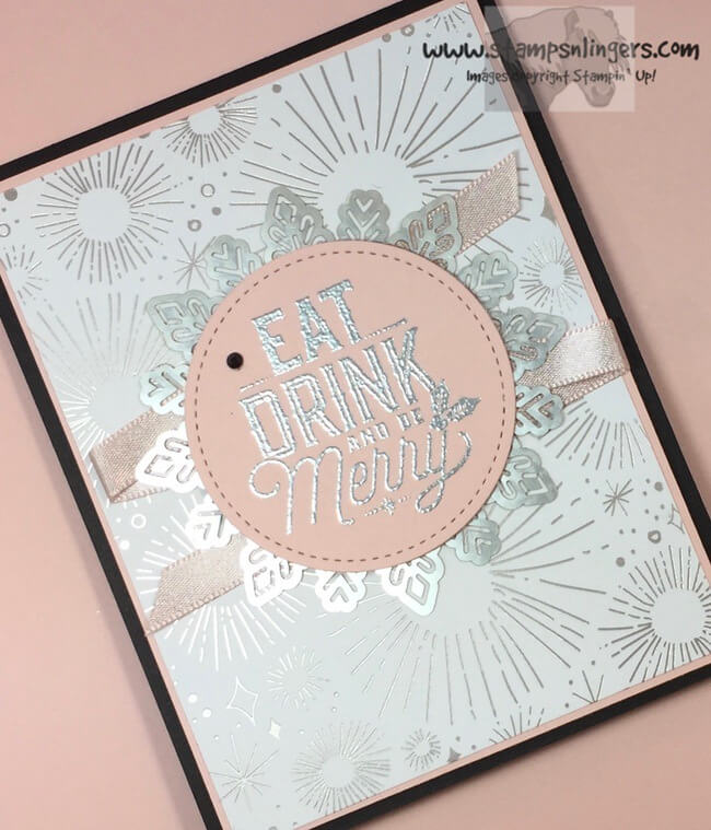 Stampin' Up! Cheery Merry Little Labels For The Stamp Ink